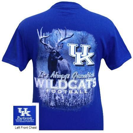 uk kentucky wildcats gametime deer unisex bright  shirt simplycutetees