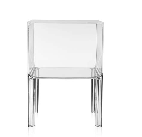 Table De Nuit Transparente by Kartell Table De Chevet Small Ghost Buster Cristal Pmma