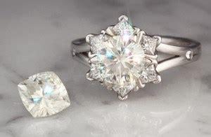 moissanite  diamond alternative  engagement rings