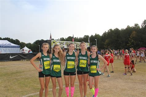 southwest guilford high school coed varsity cross country fall