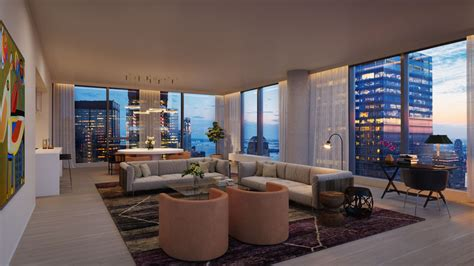 New York Apartment by New Looks At 45 Park Place Sharif El Gamal S Fidi Condo