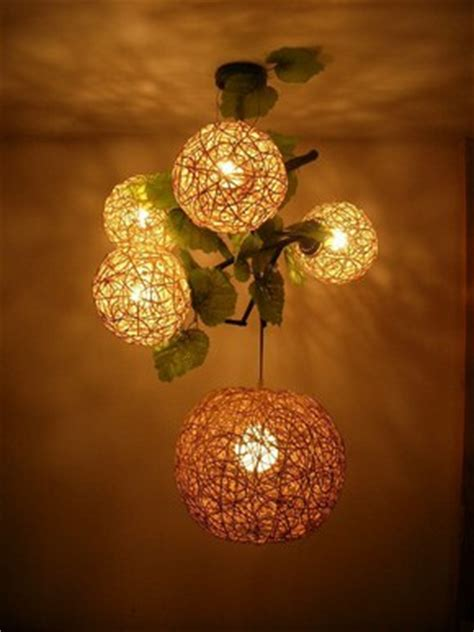 membuat lampu hias unik  cantik  bahan bekas desain minimalis
