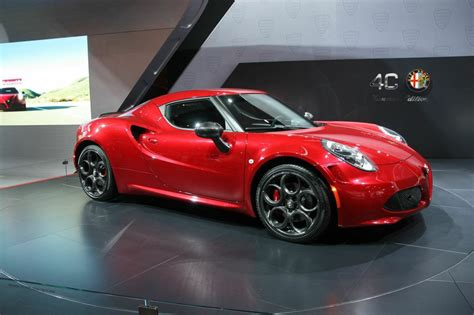 Alfa Romeo Houston by 2015 Naias All New 2015 Alfa Romeo 4c Spider Houston