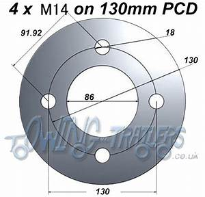 Working Out Pitch Circle Diameters  Pcd