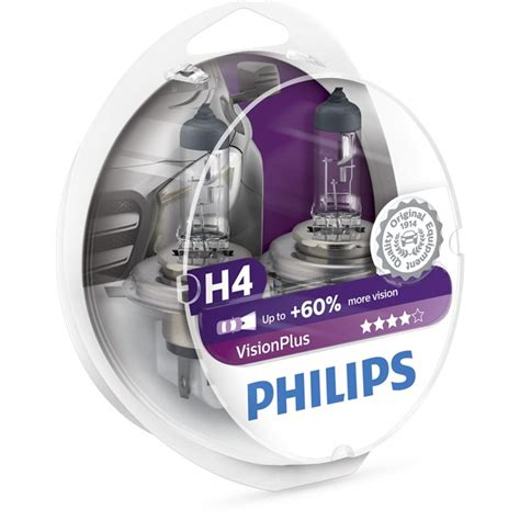 Le H4 Philips Vision Plus by 2 Oules Philips H4 Vision Plus Norauto Fr