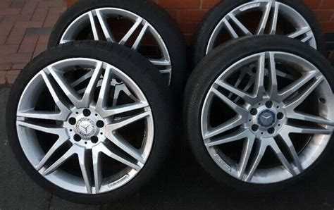 Find mercedes e55 amg wheels at the best price. 19 inch Mercedes AMG alloy wheels for sale with tyres. | in Keighley, West Yorkshire | Gumtree