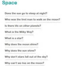 Space questions for kids http://www.whyzz.com/categories ...