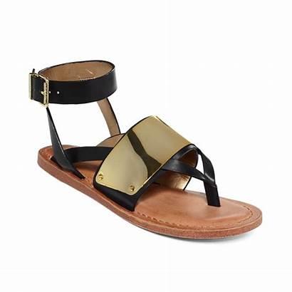Edelman Sam Circus Sandals Ankle Strap Thong