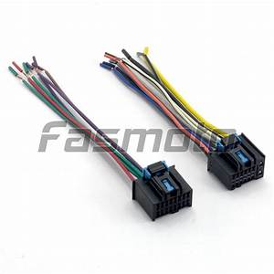 Chevrolet Captiva Car Stereo Wiring Harness Adapter  Female