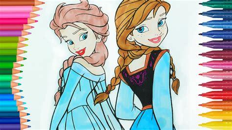 Eiskönigin Elsa Und Anna Ausmalbilder