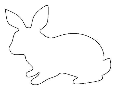 printable rabbit template