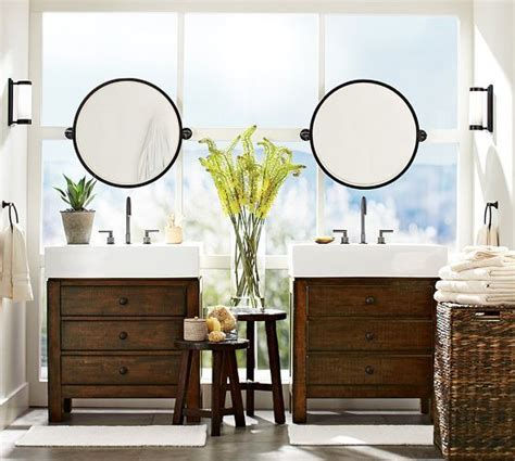 kensington pivot  mirror pottery barn lighting
