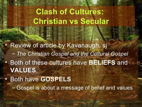 Cultural Gospel Vs Christian Gospel