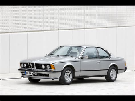 1981 BMW 635 CSi - Front And Side - 1920x1440 - Wallpaper