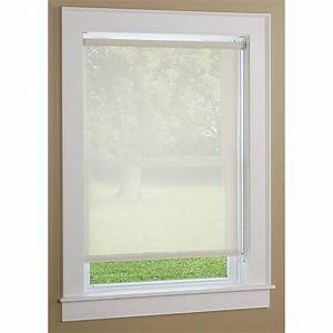 Sunscreen Roller Window Shade - 205555, Curtains at