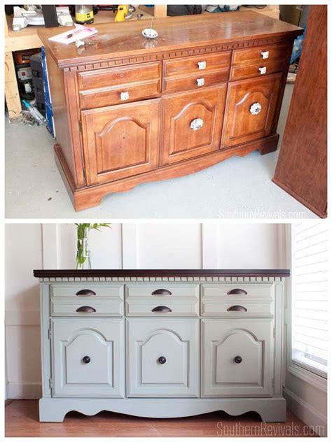 Dresser Sideboard by Client Files Vintage Sideboard Buffet Dresser Makeover