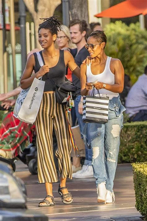 willow smith enjoyed labor day weekend sale shopping