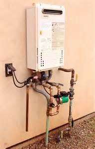 tankless water heater recirculating pump hot water