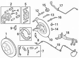 Ford Ranger Parking Brake Cable  Replace  Left  Right