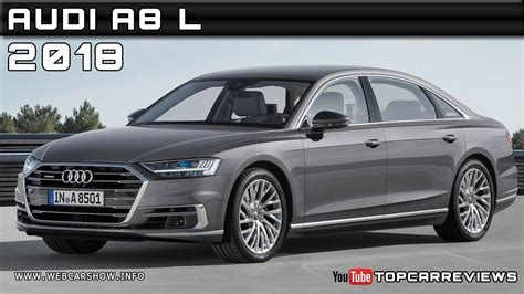 Review Audi A8 L by 2018 Audi A8 L Review Rendered Price Specs Release Date