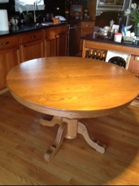amish made oak table and chairs amish made solid oak 48 inch table with 4 solid oak chairs
