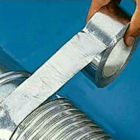 aluminium foil tapealuminumduct tapeportable aircondryerductingtubinghosepipesilver
