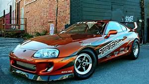 Toyota Supra Turbo Drag Race Car Project
