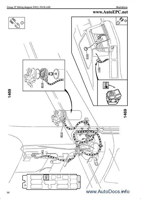 Volvo Fh13 Wiring Diagram by Volvo Fh12 Fh16 Wiring Diagram Repair Manual Order
