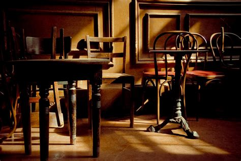 Empty Chairs At Empty Tables  Tocubit Is Invisible's Cubit