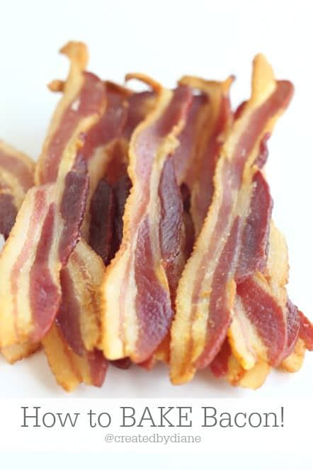how to bake bacon how to bake bacon created by diane