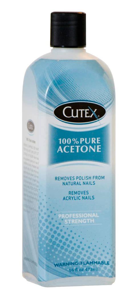 Cutex 16 Oz 100% Pure Acetone Nail Polish Remover