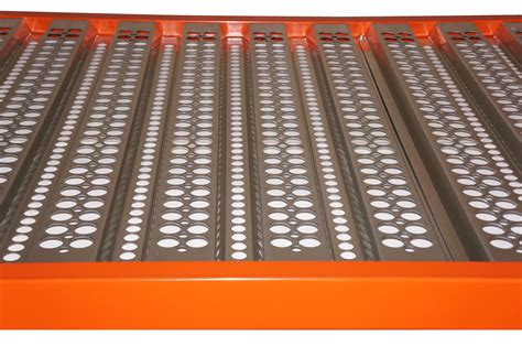 corrugated steel decking weight perforated decking corrugated decking warehouse rack