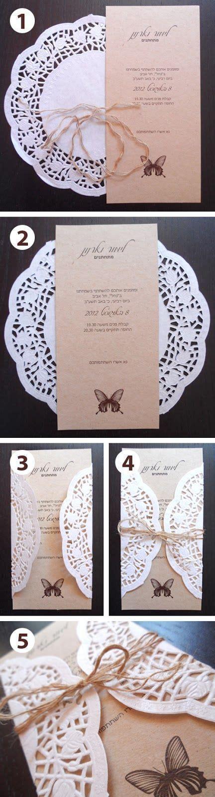 50 Unique DIY Wedding Invitation Ideas Wedding cards