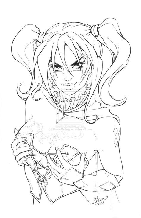 Hi Rez Suicide Squad Harley commission for Tattoos by Dawn-McTeigue.deviantart.com on