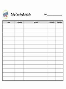 Job Size Chart Free 27 Sample Schedules In Pdf Examples