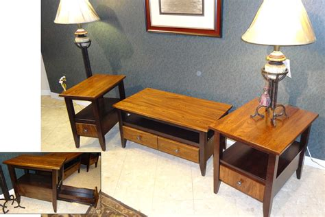 furniture cherry end tables amish furniture elm and maple tables