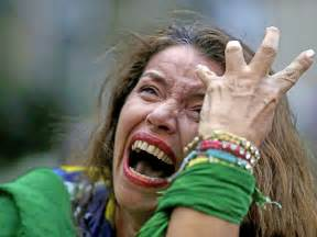 World Cup Brazil Fans Crying