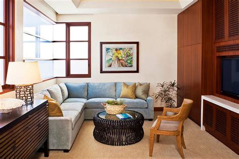 Colorful Sectional Sofas by 20 Small Tv Rooms That Balance Style With Functionality