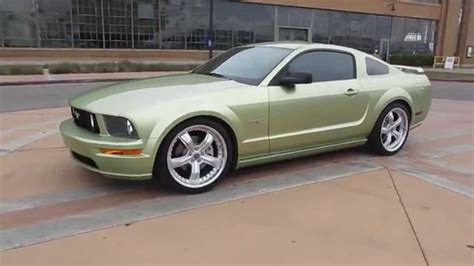 2005 Mustang Gt 0 60 by 2005 Green Ford Mustang Gt Walkaround