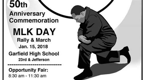 knee justice mlk day commemoration ghs monday jan