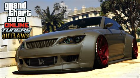 Gta 5 Widebody Sentinel Custom Car & Stance Mods