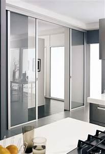 Amenager une porte coulissante les 5 choses a savoir for Porte coulissante salle a manger pour petite cuisine Équipée