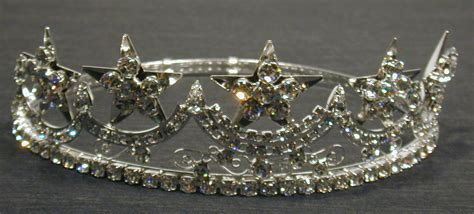 Carmen Order of the Eastern Star Crown in silver tone with ...