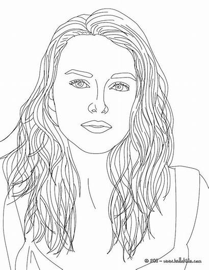 Coloring Pages Sheets Famous Adult Celebrity Knightley