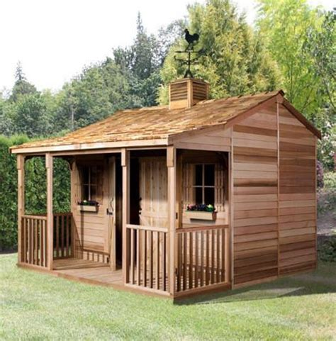 outdoor shed kits ranchouse sheds prefab guest cottage kits plans