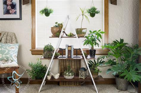 diy  frame plant stand designed decor