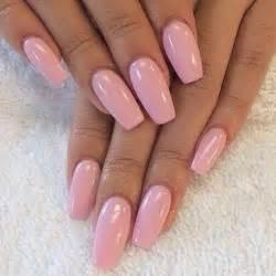 Cute pink acrylic nail designs