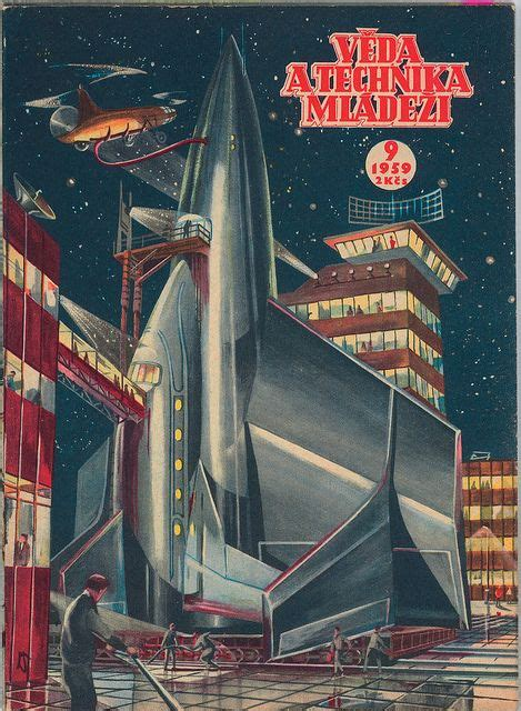 space pulp cover scifi retro futurism pinterest