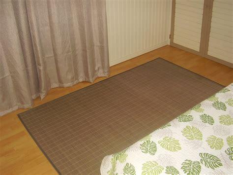 un tapis en bambou photo 7 7 pour rester dans l esprit