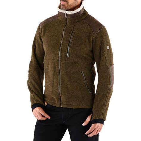 kuhl mens alpenwurx fleece jacket